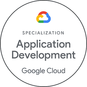 Specialization Application Development Google Cloud