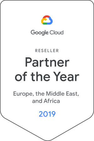 EMEA Reseller Partner of the Year by Google Cloud