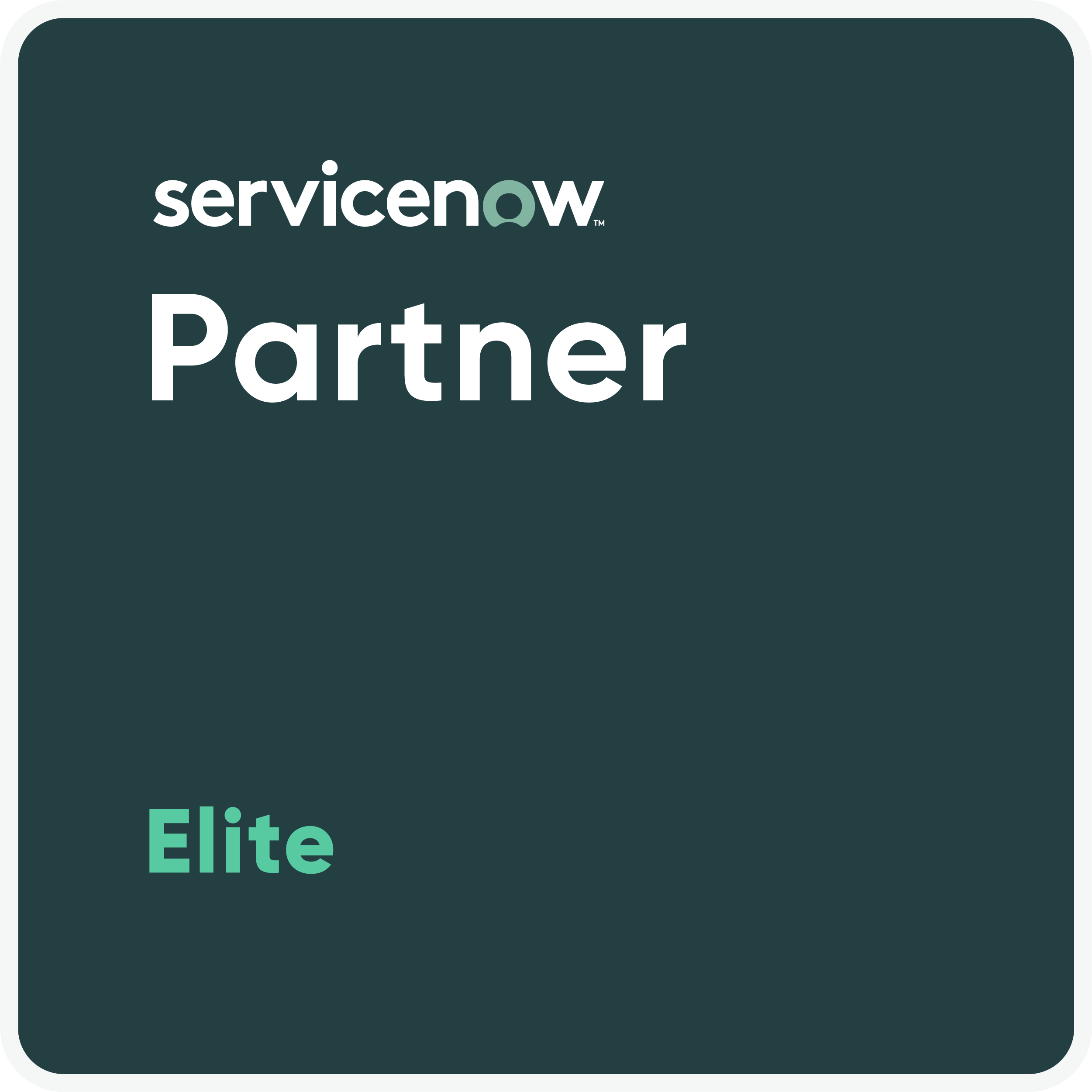 ServiceNow Partner Elite